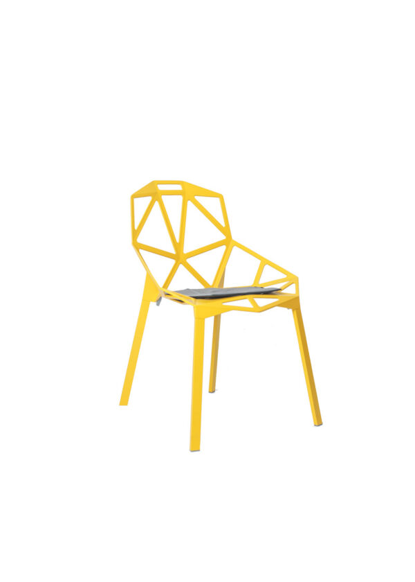 Moderna Stolica Magis One modernog dizajna, udobna , žute boje - online shop - Commodo Home & Living