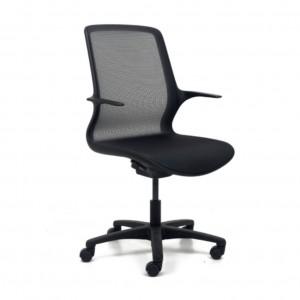 Moderna Stolica Brado -Ovidio modernog dizajna, udobna crne boje - internet prodaja - Commodo Home & living