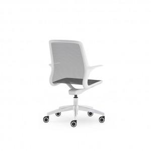 Moderna Stolica Brado -Ovidio modernog dizajna, udobna bijele boje - internet prodaja - Commodo Home & living