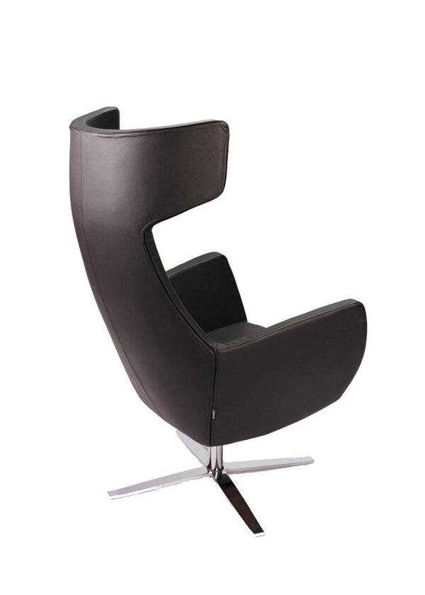 Moderna Fotelja Prestige modernog dizajna, udobna, crne boje - online shop - Commodo Home & Living