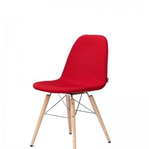 Moderna Stolica Lucy modernog dizajna, udobna, crvene boje - online shop - Commodo Home & Living