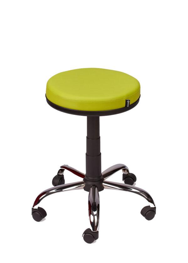 Moderna Stolica bez naslona Moon modernog dizajna, udobna , zelene boje - online shop - Commodo Home & Living