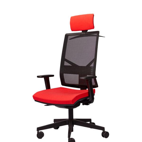 Moderna Radna stolica - Play (sa uzglavljem) modernog dizajna, udobna , crvene boje - online shop - Commodo Home & Living