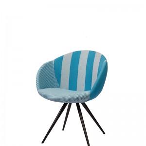Moderna Stolica Cloe modernog dizajna, udobna , plave boje - online shop - Commodo Home & Living