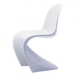 Moderna Stolica Vitra Panton modernog dizajna, udobna , bijele boje - online shop - Commodo Home & Living