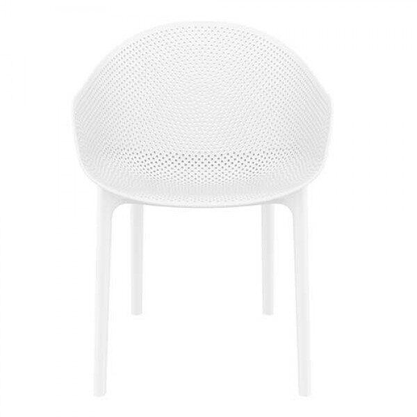 Moderna Stolica za baštu Sky klasičnog dizajna, udobna, bijele boje - internet prodaja - Commodo Home & Living