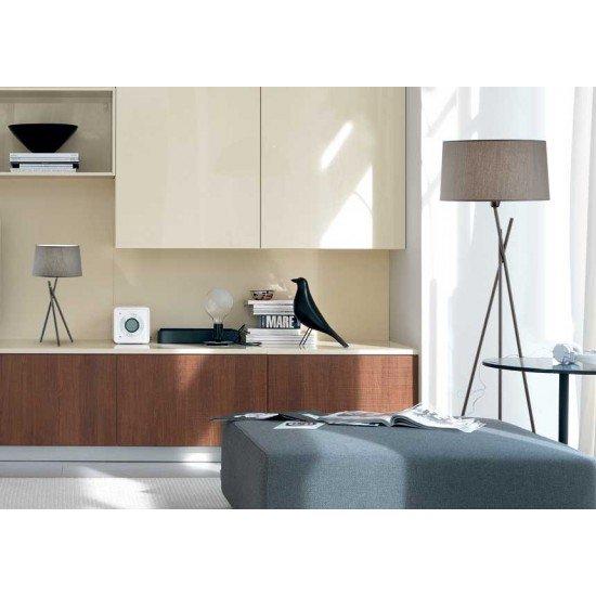 Moderna Podna Lampa Martha unikatnog dizajna , bež boje - Internet prodaja - Commodo Home & Living