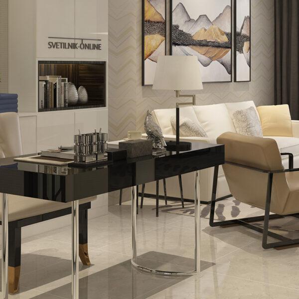 Moderna Stona Lampa Juliet modernog dizajna , kvalitetna , bijele boje - online shop - Commodo Home & Living