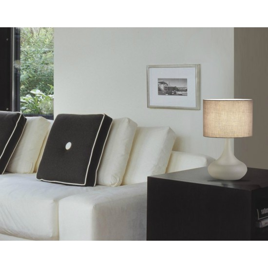 Moderna Stona Lampa Lana unikatnog dizajna , bež boje - Internet prodaja - Commodo Home & Living