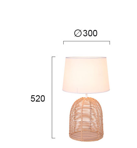 Moderna Stona Lampa Marion unikatnog dizajna - Internet prodaja - Commodo Home & Living