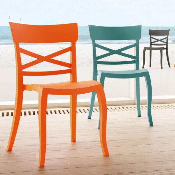 Moderna Stolica za baštu X Sera S klasičnog dizajna, udobna - internet prodaja - Commodo Home & Living