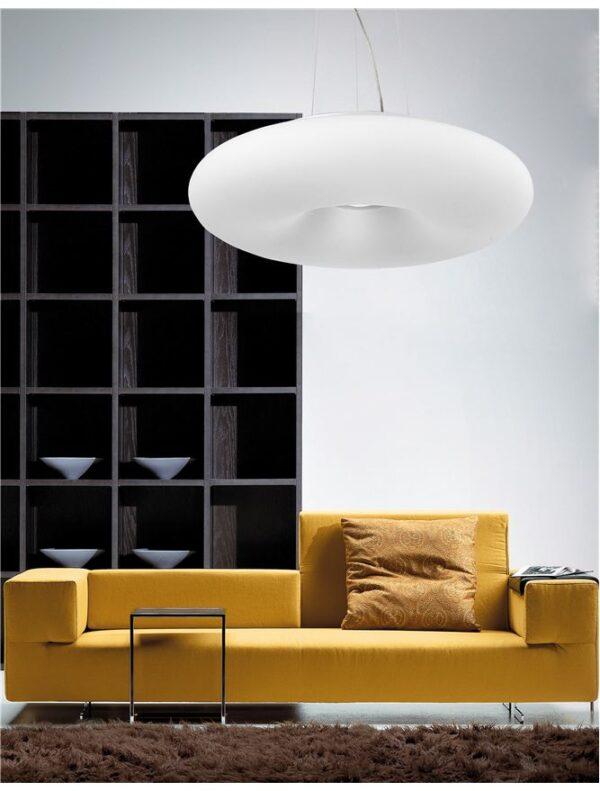 Moderni B Luster modernog dizajna , kvalitetan ,bijele boje - internet prodaja - Commodo Home & Living