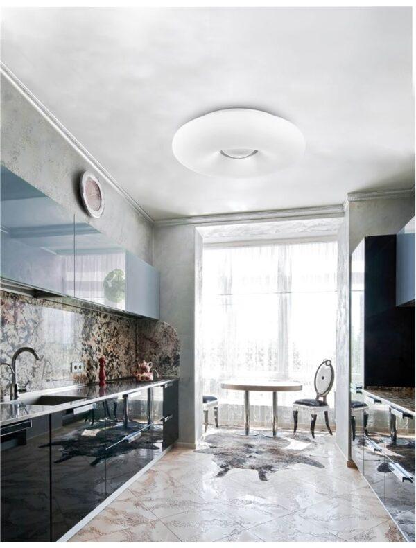 Moderna Plafonjerka Bianco modernog dizajna , kvalitetna , bijele boje - online shop - Commodo Home & Living