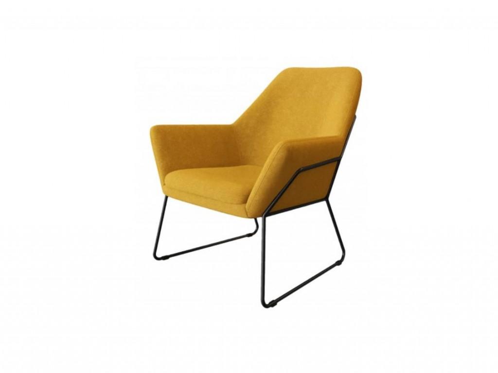 Moderna Stolica Duomo Leisure modernog dizajna , udobna , žute boje - online shop - Commodo Home & Living