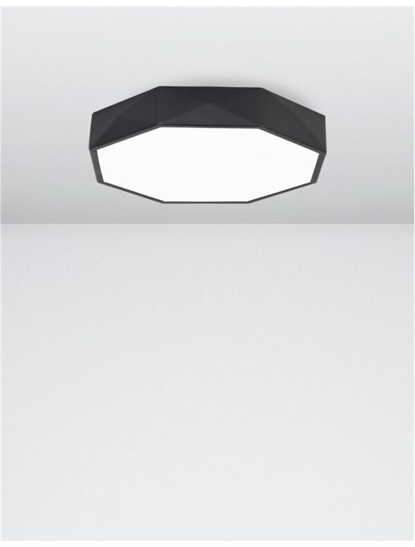 Moderna Plafonjerka Eben modernog dizajna , kvalitetna , crne boje - online shop - Commodo Home & Living
