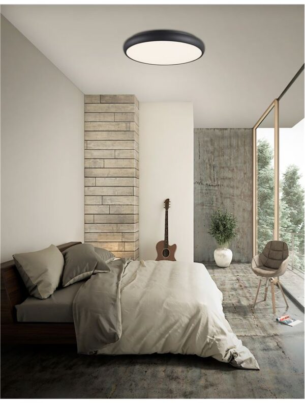 Moderna Plafonjerka Gap modernog dizajna , kvalitetna , crne boje - online shop - Commodo Home & Living
