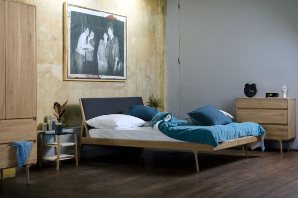 Moderni Krevet Fawn klasičnog dizajna, udoban - internet prodaja - Commodo Home & Living