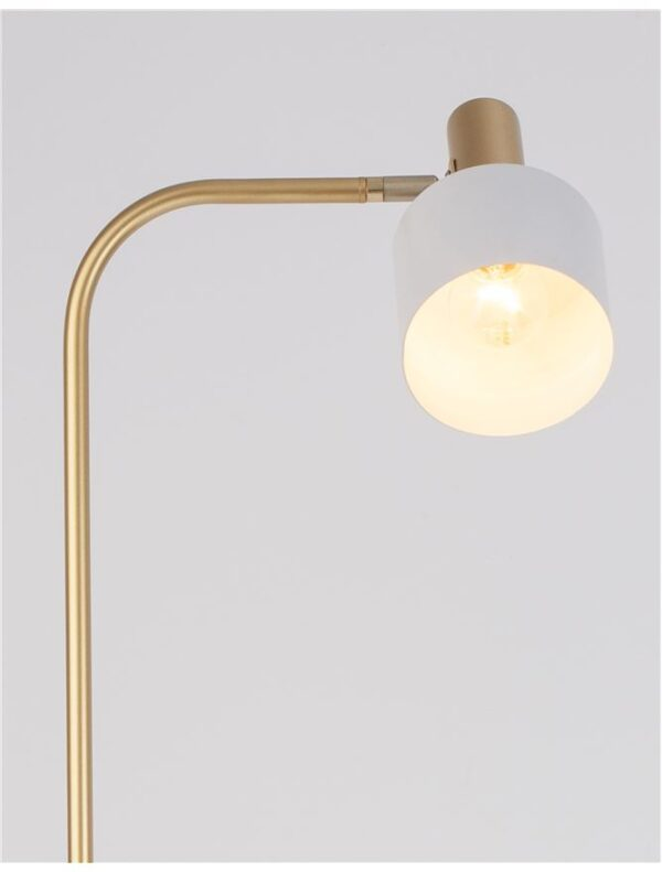 Moderna Podna Lampa Paz modernog dizajna , kvalitetna , zlatne boje - online shop - Commodo Home & Living