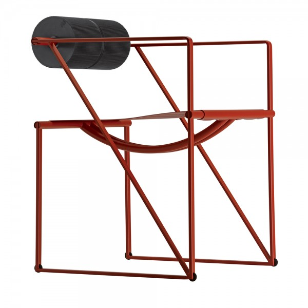 Moderna Stolica Seconda mdernog i unikatnog dizajna , udobra ,crvene boje - internet prodaja - Commodo Home & Living