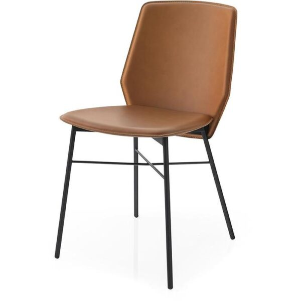 Moderna Stolica Sibilla neobičnog dizajna, kvalitetnai udobna , braon boje - internet prodaja - Commodo Home & Living