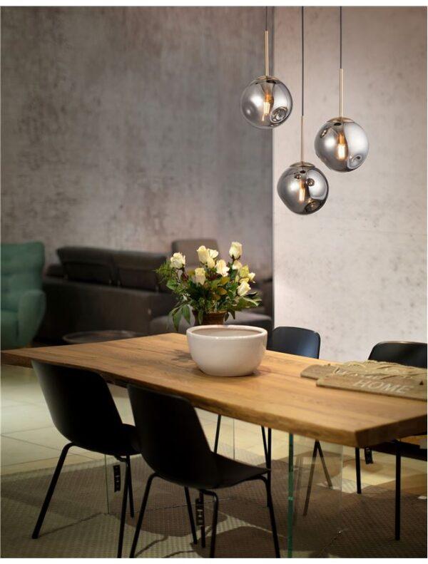 Moderna Visilica Spada modernog dizajna , kvalitetna , sive boje - online shop - Commodo Home & Living