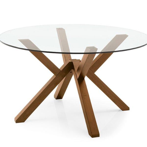 Moderni Sto Mikado modernog dizajna , kvalitetan , drveni - online shop - Commodo Home & Living