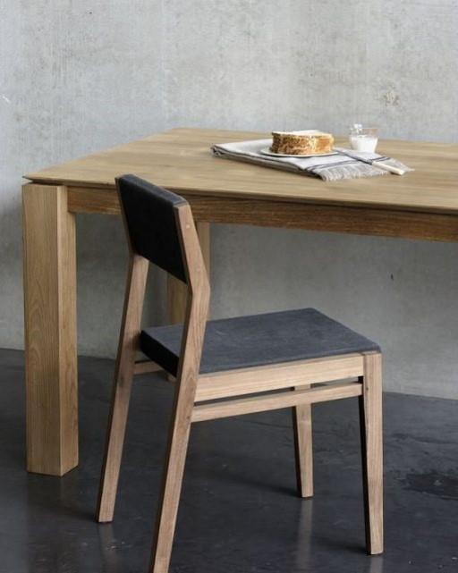 Moderni Trpezarijski Sto Oak Slice klasičnog dizajna, drveni - internet prodaja - Commodo Home & Living