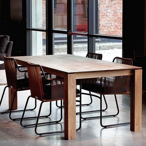 Moderni Trpezarijski Sto Oak Slice klasičnog dizajna, kvalitetan , drveni - internet prodaja - Commodo Home & Living