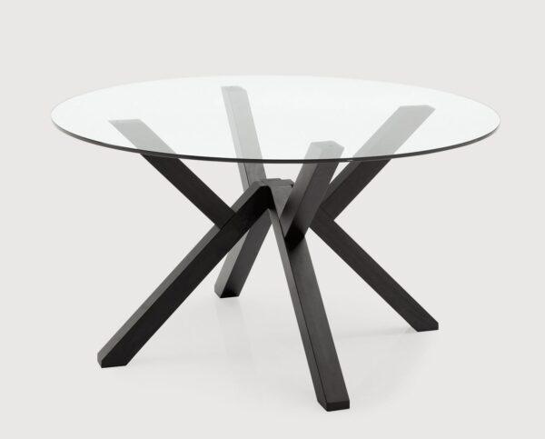 Moderni Klub Sto Trpezarijski sto - Mikado neobičnog dizajna, kvalitetan, crne boje - internet prodaja - Commodo Home & Living