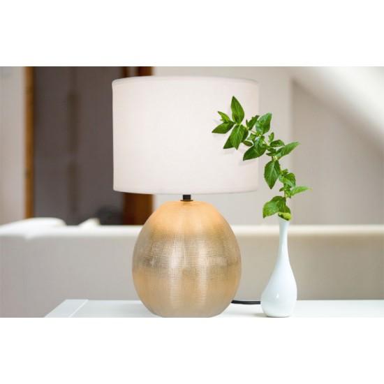 Moderna Stona Lampa modernog dizajna , kvalitetna , bijele boje - online shop - Commodo Home & Living
