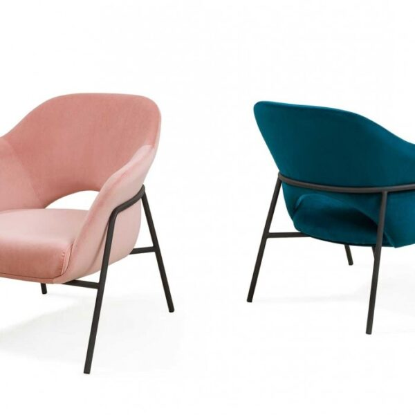 Moderna Stolica Salerno Leisure modernog dizajna, kvalitetna i udobna - internet prodaja - Commodo Home & Living