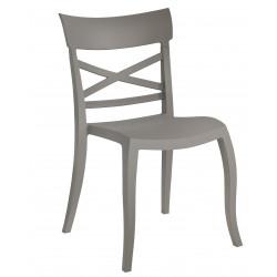 Moderna Stolica za baštu X Sera S klasičnog dizajna, udobna , sive boje - internet prodaja - Commodo Home & Living