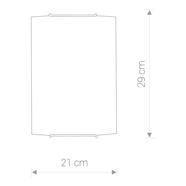 Moderna Zidna lampa Classic 3 modernog dizajna ,kvalitetna , bijele boje - internet prodaja - Commodo Home & Living