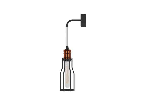 Moderna Zidna lampa WORKSHOP I modernog dizajna,kvalitetna , crne boje - online shop - Commodo Home & Living