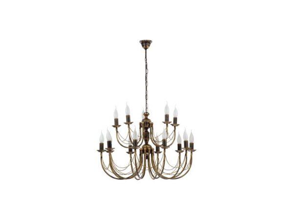 Moderni ARES luster – rasvjeta modernog dizajna,kvalitetan ,braon boje - online shop - Commodo Home & Living