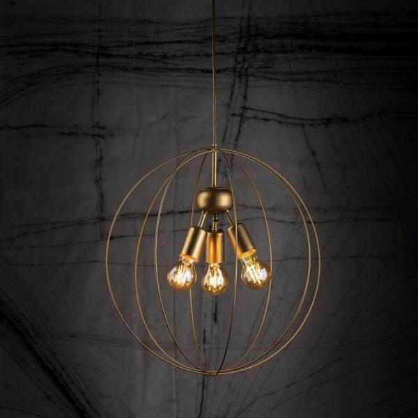 Moderni Luster - BULLET modernog dizajna,kvalitetan, zlatne boje - online shop - Commodo Home & Living