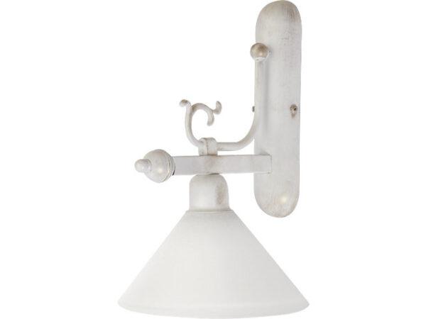 Moderna Zidna lampa – CORA white modernog dizajna ,kvalitetna , bijele boje - internet prodaja - Commodo Home & Living