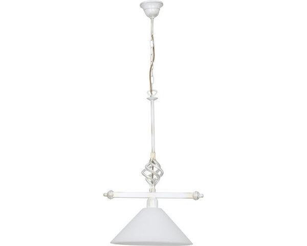 Moderni Luster – CORA white modernog dizajna ,kvalitetan , bijele boje - internet prodaja - Commodo Home & Living