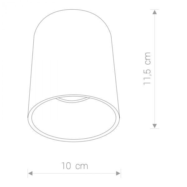 Moderna Plafonska svjetiljka - EYE TONE modernog dizajna,kvalitetna - internet prodaja - Commodo Home & Living