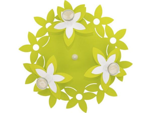 Moderni Plafonski spot - Flowers modernog dizajna,kvalitetan , zelene boje - online shop - Commodo Home & Living