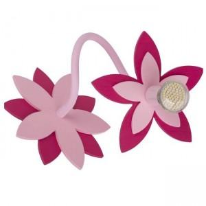 Moderna Zidna / plafonska lampa - Flowers pink modernog dizajna,kvalitetna , roze boje - internet prodaja - Commodo Home & Living