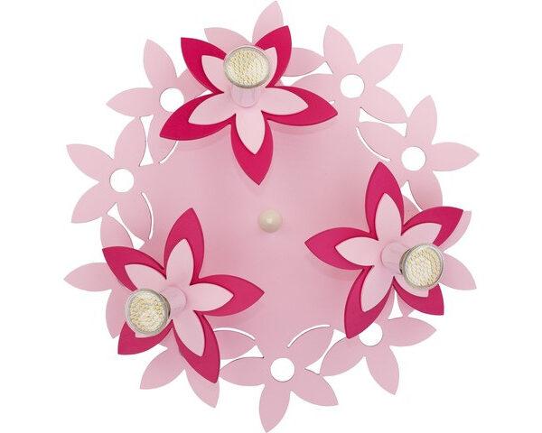 Modeni Plafonski spot - Flowers modernog dizajna,kvalitetan , roze boje - online shop - Commodo Home & Living