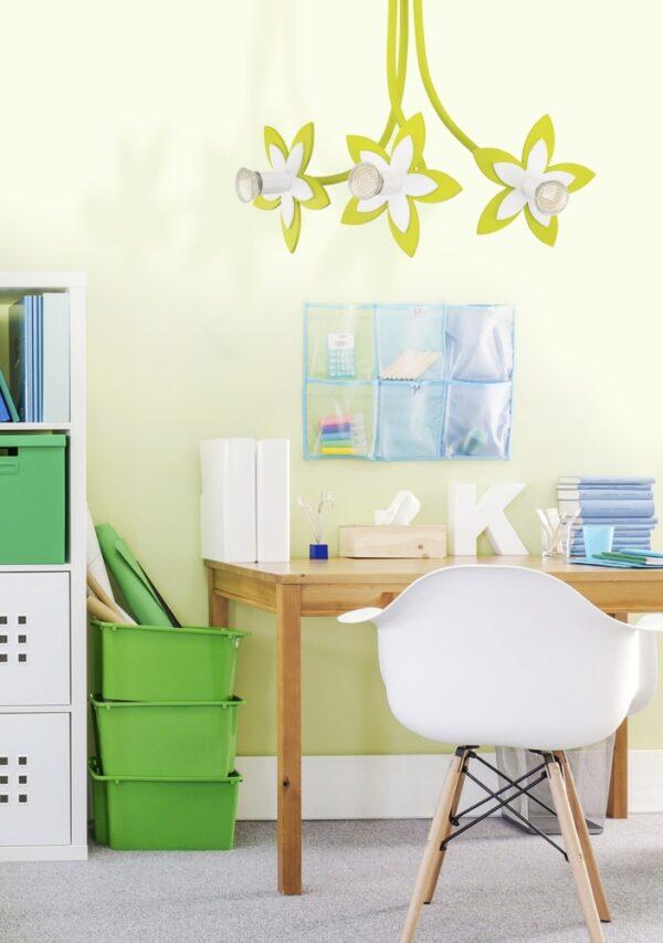Moderna Svjetiljka Flowers modernog dizajna,kvalitetan , zelene boje - online shop - Commodo Home & Living