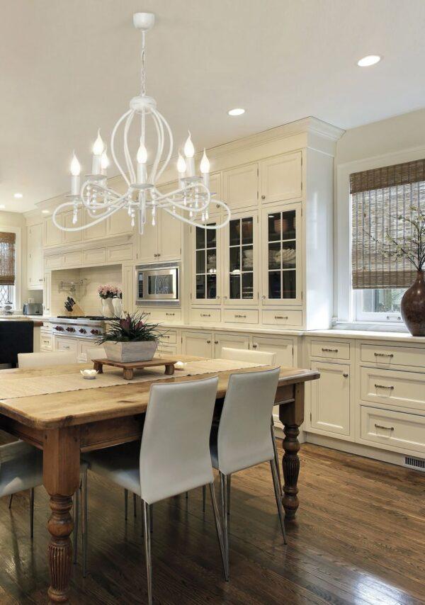 Luster - FRESCO VIII zwis – modernog dizajna ,kvalitetan , bež boje - internet prodaja - Commodo Home & Living