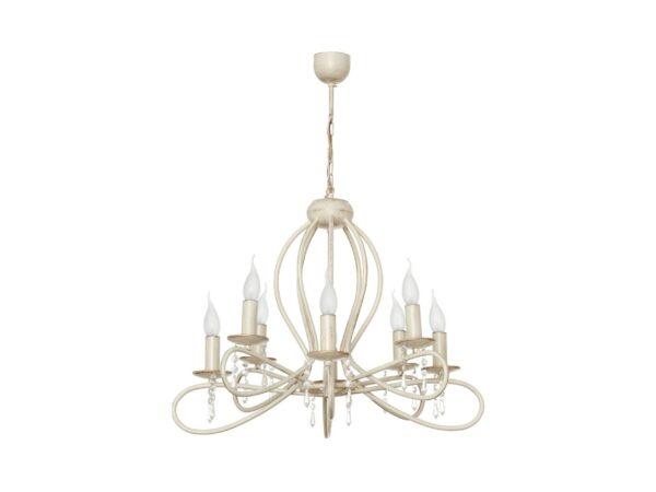 Moderni Luster - FRESCO VIII zwis – rasvjeta - modernog dizajna,kvalitetan ,bež boje - online shop - Commdo Home & Living