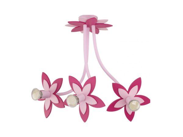 Moderni Luster - Flowers pink modernog dizajna,kvalitetan , roye boje - internet prodaja - Commodo Home & Living