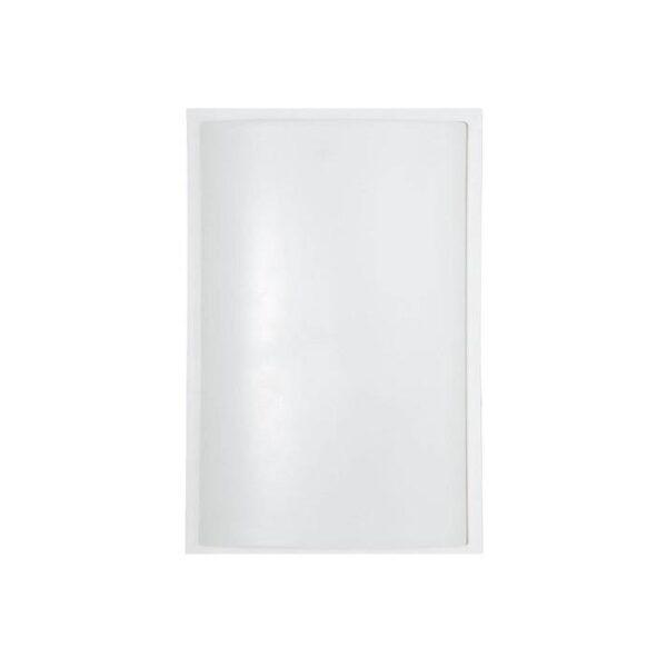 Moderna Plafonjerka - GARDA 1 bialy modernog dizajna,kvalitetna , bijele boje - online shop - Commodo Home & Living