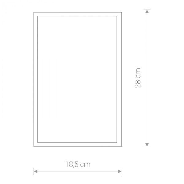 Moderna Plafonjerka - GARDA 1 bialy mat modernog dizajna ,kvalitetna , bijele boje - internet prodaja - Commodo Home & Living