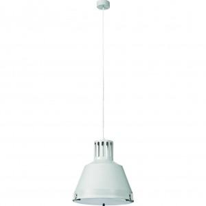 Moderni Luster - INDUSTRIAL white M modernog dizajna ,kvalitetan , bijele boje - internet prodaja - Commodo Home & Living