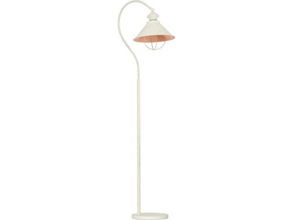 Moderna Podna lampa - LOFT ecru - modernog dizajna,kvalitetna , bijele boje - internet prodaja - Commodo Home & Living